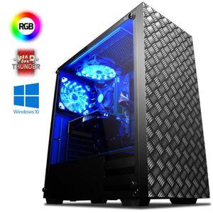 UNITÉ CENTRALE  VIBOX Agile 11 PC Gamer Ordinateur avec War Thunde