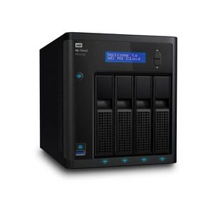 SERVEUR STOCKAGE - NAS  WESTERN DIGITAL NAS My Cloud™ PR4100 WDBNFA0080KBK