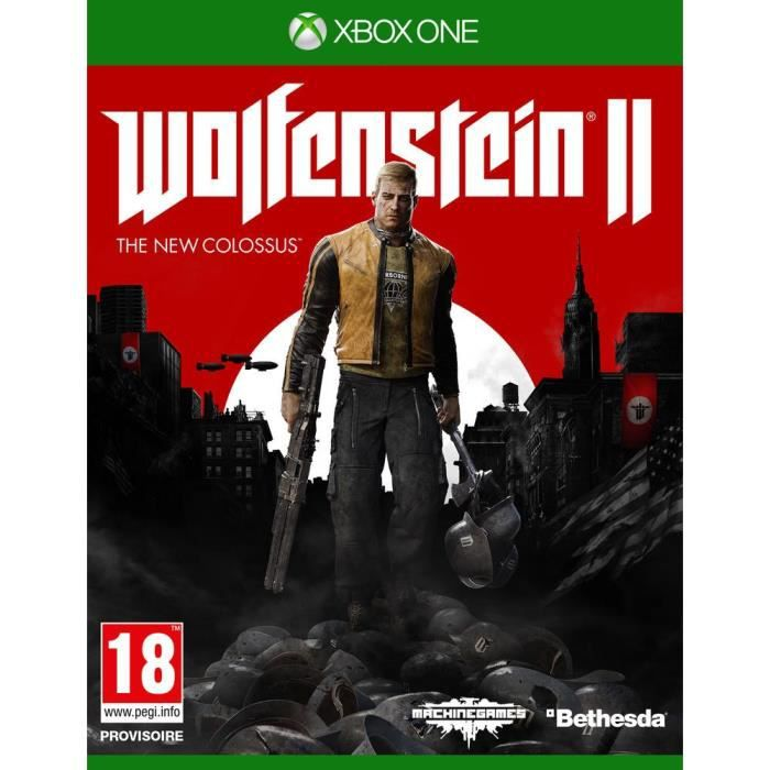 JEU XBOX ONE NOUVEAUTÉ Wolfenstein II The New Colossus Jeu Xbox One