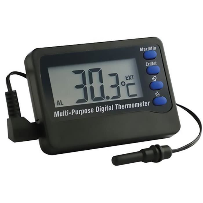 EBI Thermomètre digital avec alarme
