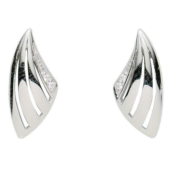 Basic Silber - Basique Argent 01.2344 Femmes clou Argent ZirconiaRéf 43359