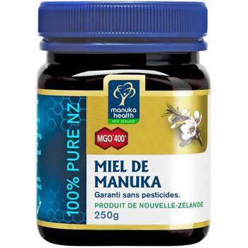 MIEL Manuka Health Miel de Manuka MGO 400 250g