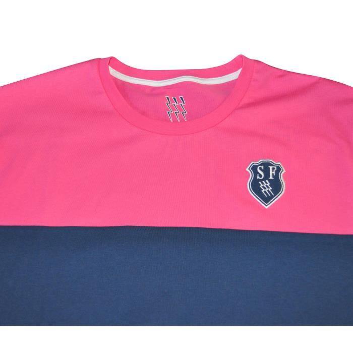 Français T Bleu Shirt Vente Achat Bleurose Stade EEPr6wnqSB