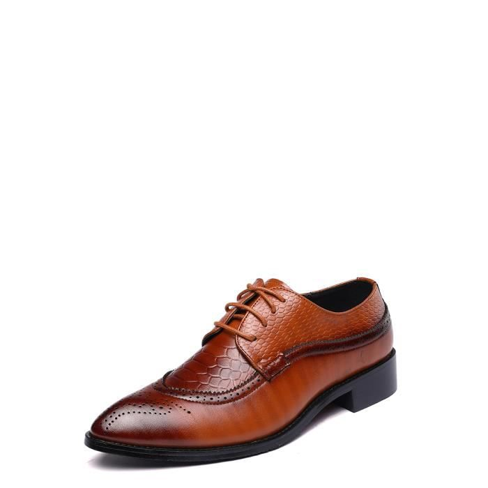 Chaussures Richelieux hommes Plus Size Vintage Chaussures de haute qualité 10268430 EvmUXDT1