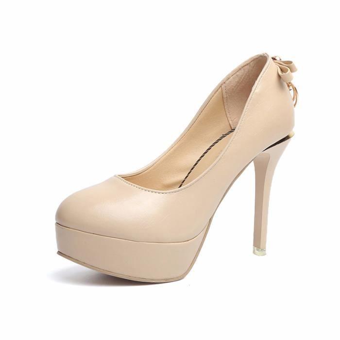 2018 printemps nouvelles dames chaussures à talons hauts discothèque basse-table de l'eau pour aider l'Europe et les États-Unis chau z5Xs72MON