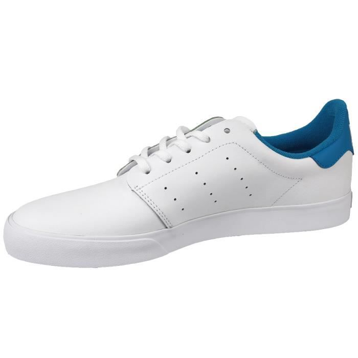 Adidas Seeley Court BB8587 Homme Baskets Blanc,Bleu
