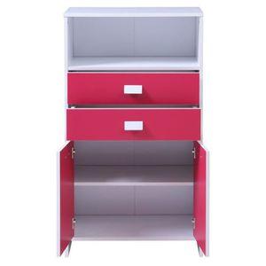 chiffonnier largeur 60 achat vente chiffonnier largeur 60 pas cher cdiscount. Black Bedroom Furniture Sets. Home Design Ideas