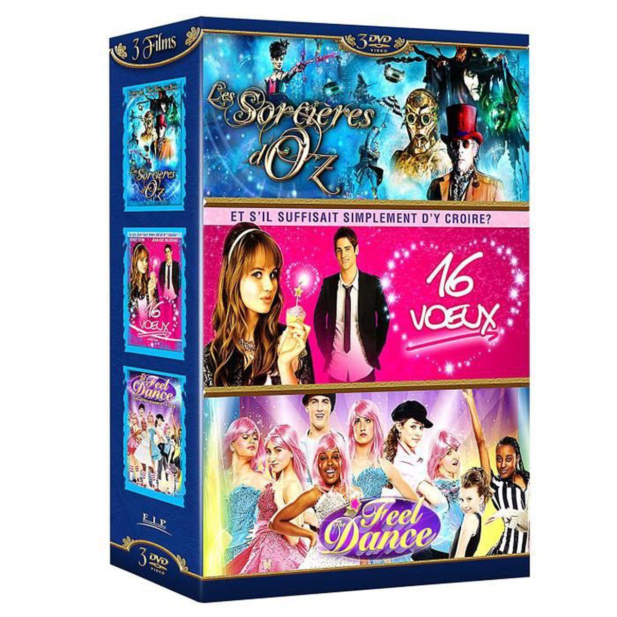 DVD FILM Coffret DVD Les Sorcières d'Oz + 16 voeux + Feel t