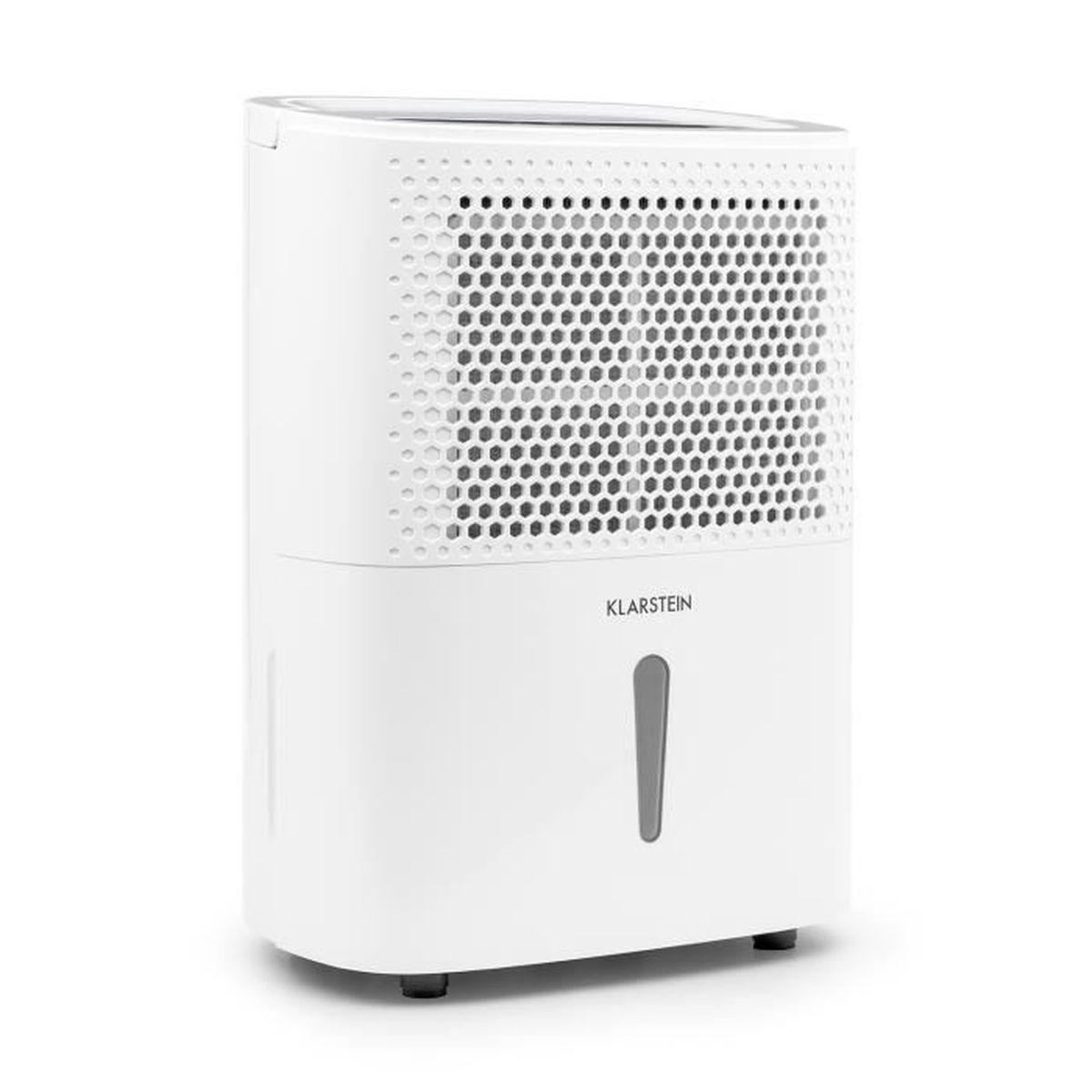 Klarstein DryFy 10 Déshumidificateur d air électrique silencieux 10l ... 189bdcd2a64