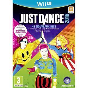 JEU WII U Just Dance 2015 Jeu Wii U