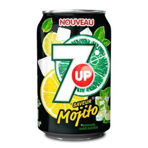 Soda - Thé glacé 7up Mojito - 24 x 0,33 Litre - Seven Up Mojito