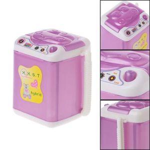 MAISON POUPÉE Miniature Machine à Laver Mobilier Décoration Pour
