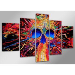 Tableau moderne imprim 160x80 cm abstrait achat for Tableau imprime sur verre
