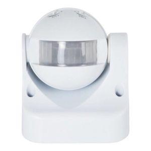 Capteur de proximité Détecteur de présence orientable 180º PIR IP44