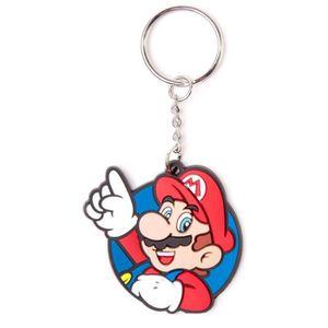 PORTE-CLÉS Porte-clés caoutchouc Mario: Mario