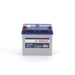 BATTERIE VÉHICULE Batterie BOSCH Bosch S4025 60Ah 540A - 40470234798