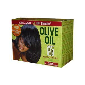 DÉFRISAGE - LISSAGE ORS Olive Oil Built-In Protection - Défrisant sans