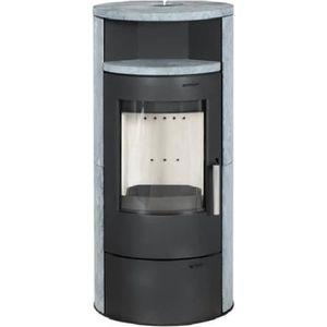 POÊLE - INSERT - FOYER POELE A BOIS ELSA 7KW AVEC option combustion conti