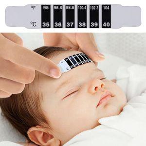 THERMOMÈTRE BÉBÉ LESHP® Bébé Thermomètre frontal numérique Test de