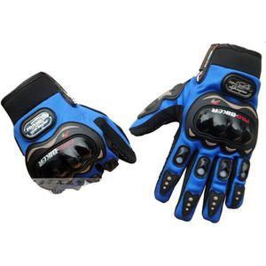 GANTS - SOUS-GANTS 1 pairs  Bleu Paires NOIR gants de moto gants de d