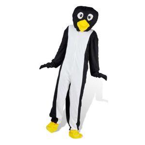 Costume de carnaval mascotte de Pingouin M-L Noir Noir - Achat ... 6423be8413d
