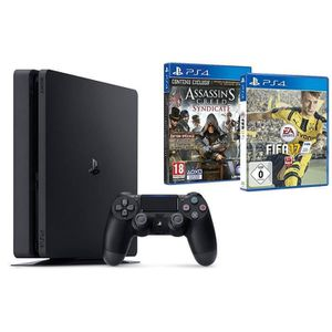CONSOLE PS4 PS4 1 To Slim + Fifa 17 + Assassin's Creed : Syndi