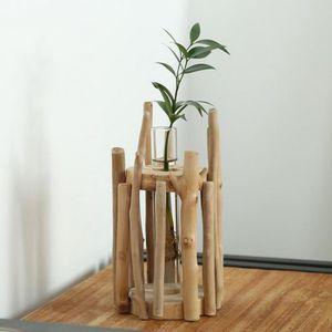 VASE - SOLIFLORE VASE - SOLIFLORE Vase en verre 1 pièce sur socle e