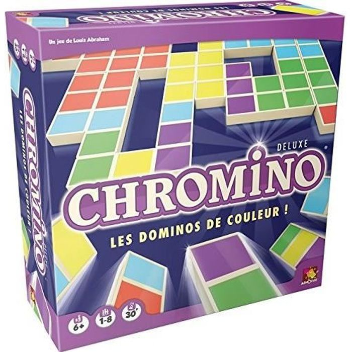 ASMODEE - Chromino Deluxe - Jeu de société