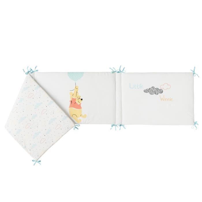 40x180 cm lacet - Velours 100% polyester - Garnissage 100% polyesterTOUR DE LIT BEBE