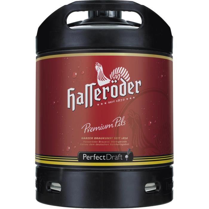 fut de biere hasseroeder perfect draft permium pils fût de bière 6