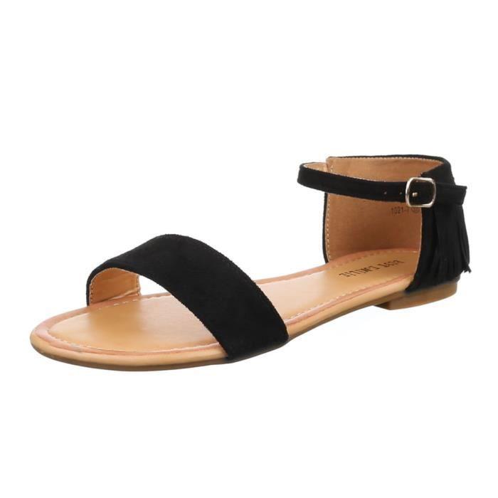 Femme sandale chaussure de Dianette laçage Femme chaussure 2iGYmyUuP