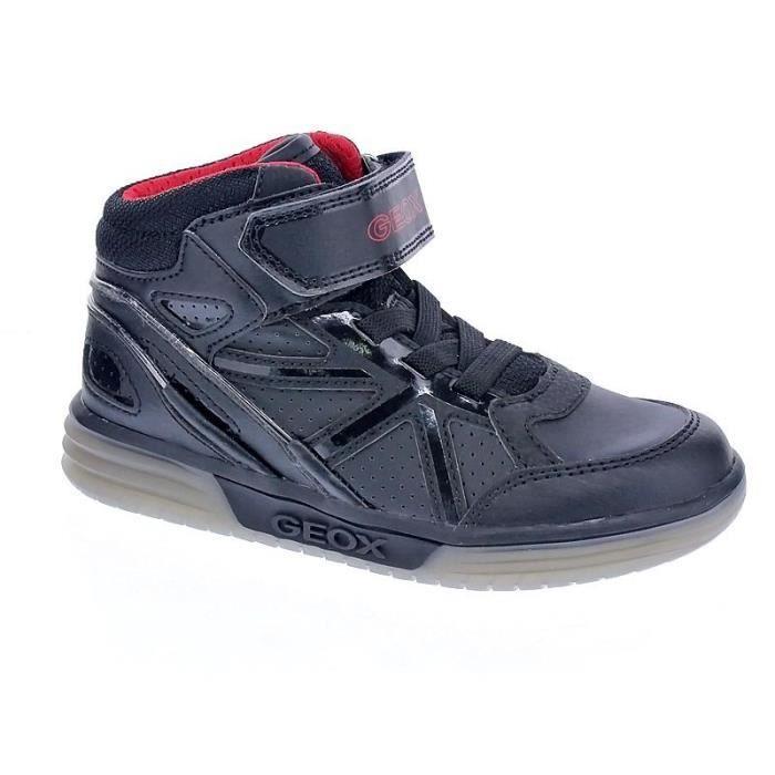 Achat Garçon Geox Vente Noir Modèle Chaussures Boy Argonat RYpwpUq