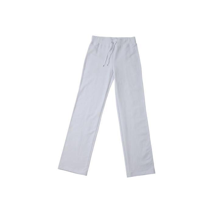 pantalon jogging femme blanc achat vente pas cher. Black Bedroom Furniture Sets. Home Design Ideas