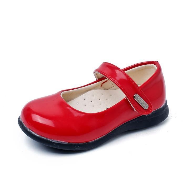 Chaussure Enfant Ballerine en Cuir Fille mode KijfXN2dhI