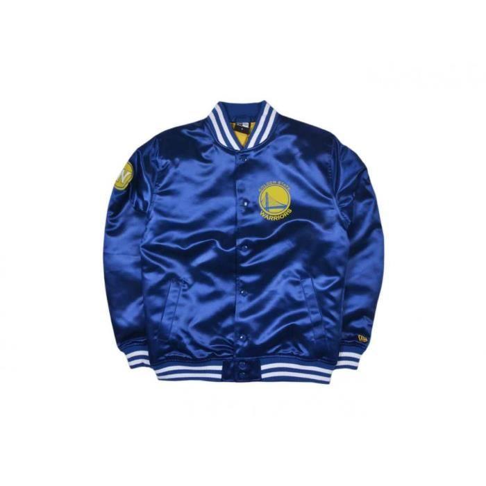 9893b8f521819 Blouson New Era Tip Off Golden State Warriors - 11530721 Bleu Bleu ...