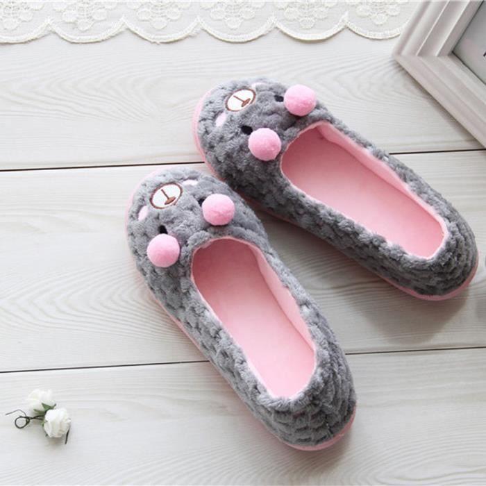 Cartoon Chaussures Les Benjanies Enceintes Chaud Pantoufles Femmes De Yogagris Cute Yx7qwUIE