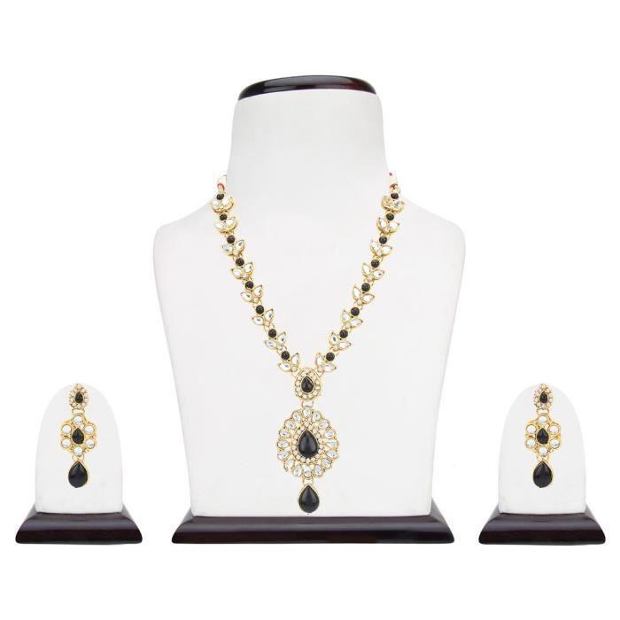 Kundans mariée Femmes Parures pour Jewelleries mariage pour collier pour Fashion Party Wear JRKGO