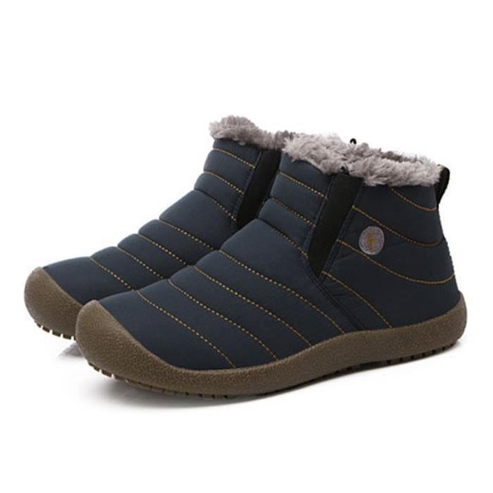 Slip-Bow canard Rain Boot Shoe Y5JZ0 Taille-38 lxAeWnsKs