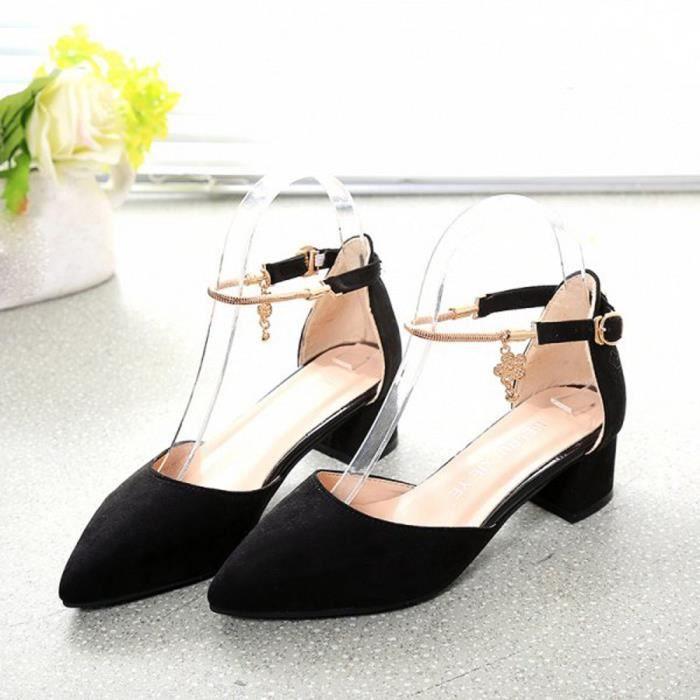 Chaussures à talons hauts Chaussures de mariage Sandales d'été Chaussures Plateformes compenséeshyu-580