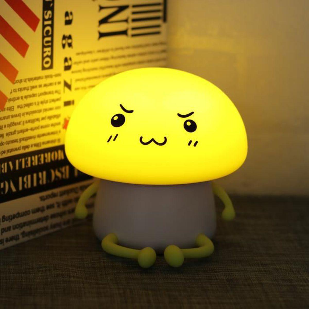 Led Rechargeable Emotion Lampe Emoji Mignon Atmosphère Lumière W9HYIED2