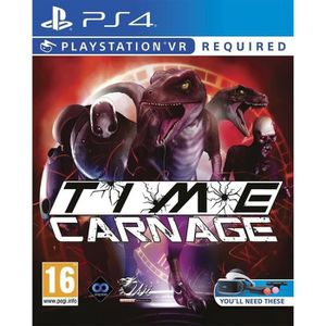 JEU PS4 Time Carnage PS4 - PSVR requis