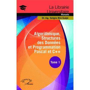 LIVRE PROGRAMMATION Algorithmique, structures des données et programma