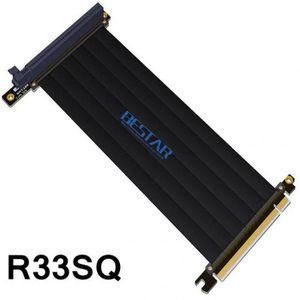 CÂBLE E-SATA Version 30cm - Gen3.0 Pci-E 16x À Riser Extender C