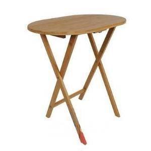 TABLE D'APPOINT DESSERTE SERVICE TABLE BOIS BAMBOU CUISINE PLIANTE