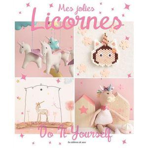 LIVRE LOISIRS CRÉATIFS Livre - mes jolies licornes