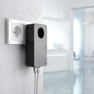 COURANT PORTEUR - CPL Adaptateur CPL Devolo dLAN pro 1200+ Wi-Fi n - 120