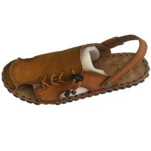 CHAUSSON - PANTOUFLE Homme summer chaussures sandales marron