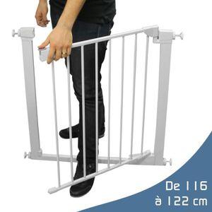 barriere de securite 120 cm achat vente pas cher. Black Bedroom Furniture Sets. Home Design Ideas