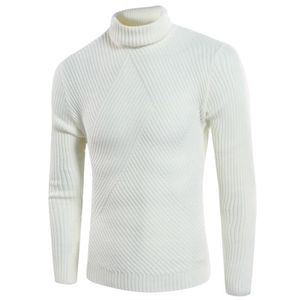 54393aa80c61 PULL Pull en maille homme mode col roulé manches longue