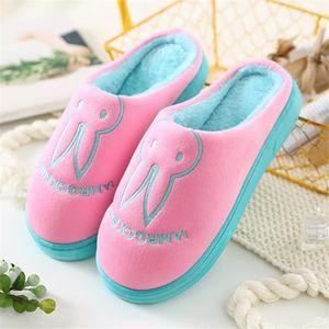 CHAUSSON - PANTOUFLE Lapin chausson Femme Mignon Poids Léger chaussures